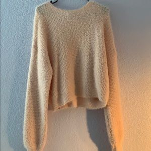 Forever 21 Light Pink Cozy Sweater